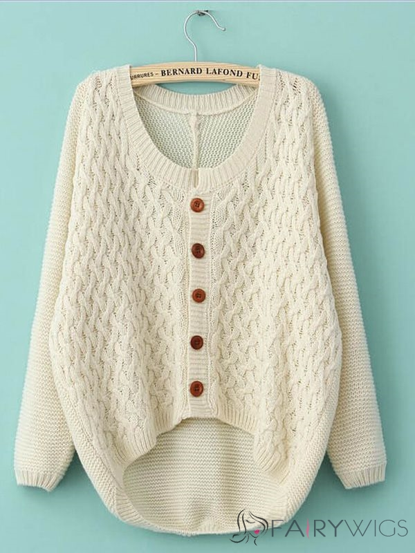 Pullover Long Sleeve Round Neck Sweater