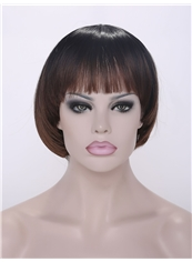 Wholesale 10 Inch Capless Synthetic Straight Short Wigs
