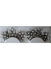 Cheap Hand Made Feather Fake Eyelashes