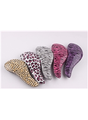 Leopard Magic Detangling Handle Tangle Shower Hair Brush Salon Styling Tamer Tool Comb