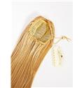 20 Inch Human Hair Clip & Drawstring Ponytails