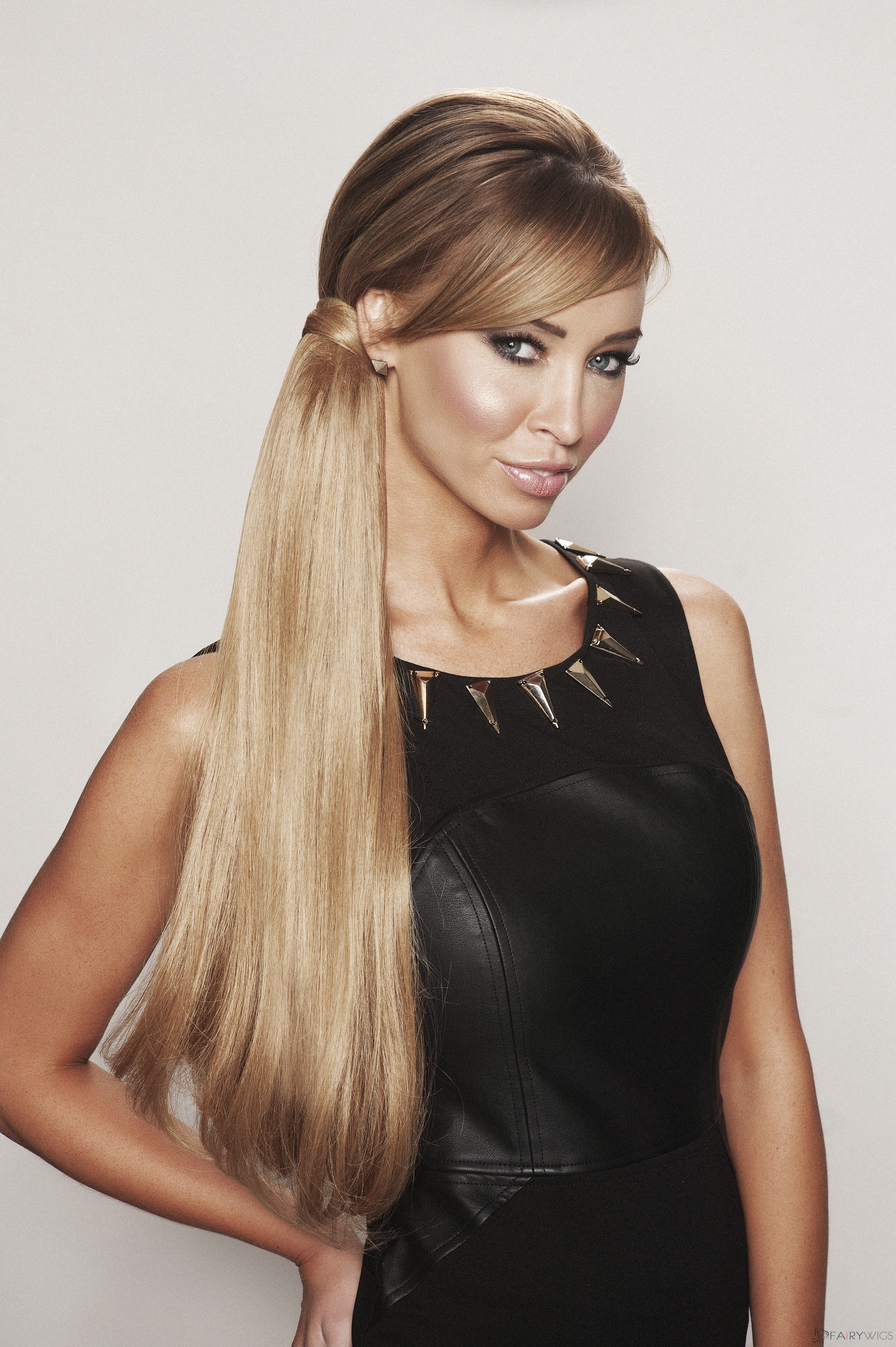 Perfect 20 Inch Human Hair Claw Clip Ponytails