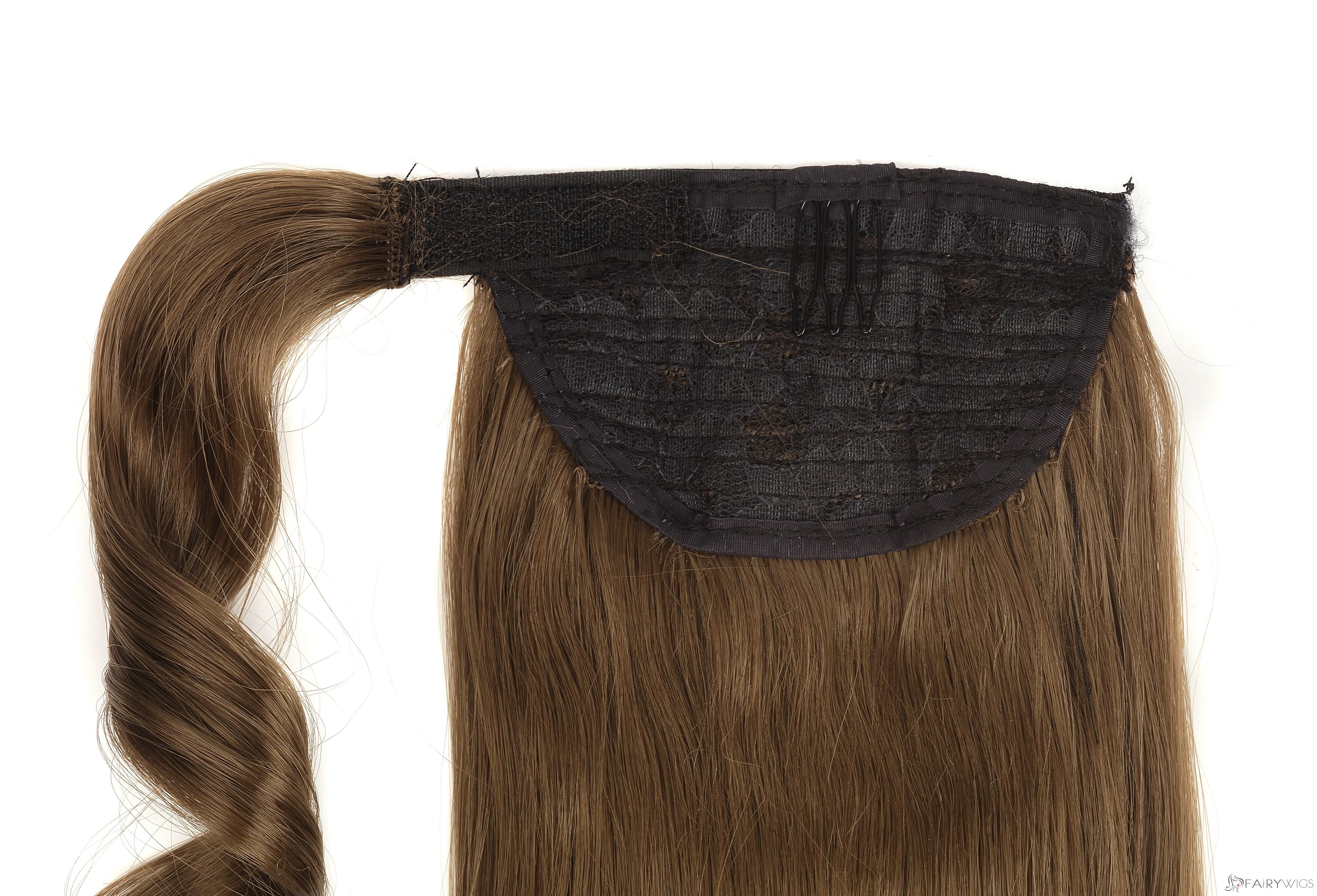 Perfect 20 Inch Human Hair Clip & Drawstring Ponytails