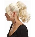 14 Inch Human Hair Claw Clip & Drawstring Ponytails