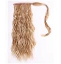 New 14 Inch Human Hair Clip & Drawstring Ponytails