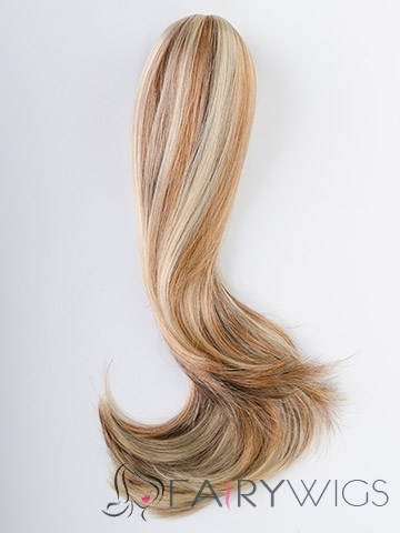 Sale 20 Inch Human Hair Clip & Drawstring Ponytails