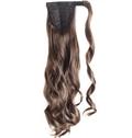 Fantastic 20 Inch Human Hair Wavy Clip & Drawstring Ponytails