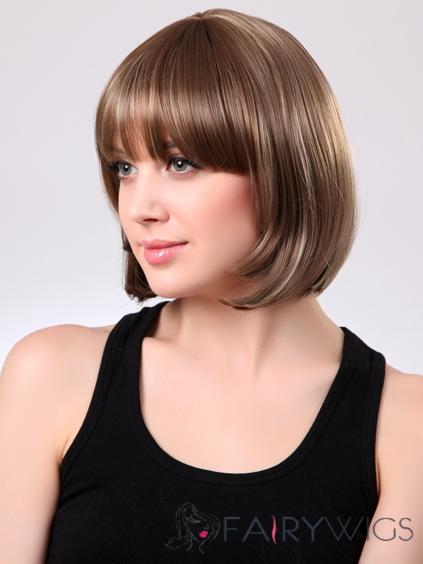 Most Attractive 10 Inch Capless Synthetic Hair Bob Wig