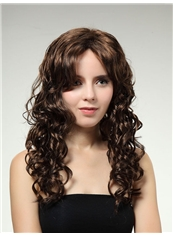 Dreamlike 18 Inch Capless Wave Brown Synthetic Hair Wig