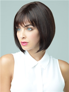 Fantastic Short Bob Human Hair wigs for women