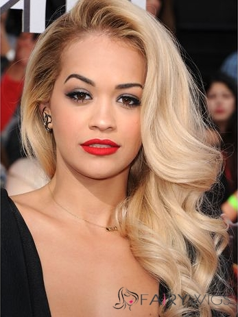 Hot Full Lace Wavy Long Human Hair Wigs