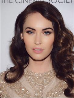 Charming Lace Front Medium Wavy Human Hair Wigs