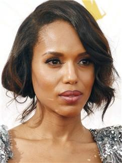 Hot Short Wavy Black African American Wigs for Women