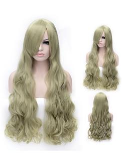 Sexy Long Receda Capless Wavy Wigs