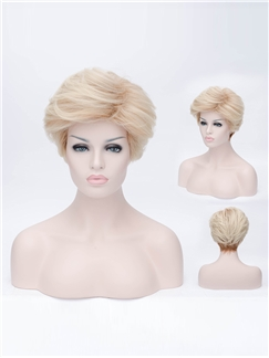 2015 Fashion men's  Short Capless Wig