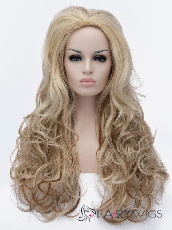 Special Cool Long Dark Flaxen Hairstyle