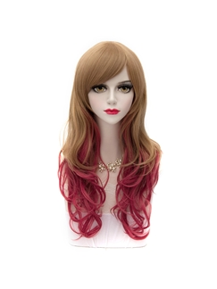Cute Lolita Hairstyle Long Ombre Wigs 24 Inches