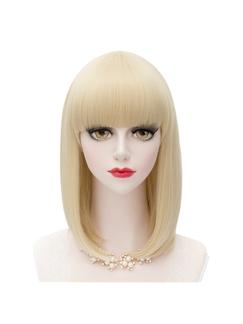 Japanese Lolita Style Light Blonde Cosplay Bobo Wigs