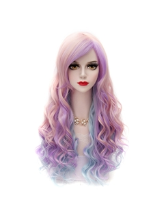 Japanese Lolita Style Colored Long Wig