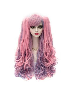 Long Wave Ombre Synthetic Cosplay Wig 32 Inches