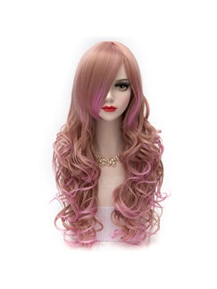 Princess Long Deep Wave Hairstyle Ombre Cosplay Wig