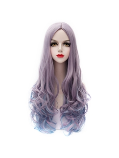 Long Ombre Straight Lolita Cosplay Wigs