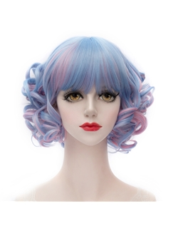 Baby Doll Short Curly Bobo Cut Lolita Wig