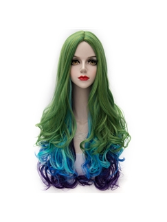 Fairy Long Wave Mixed Color Lolita Wig