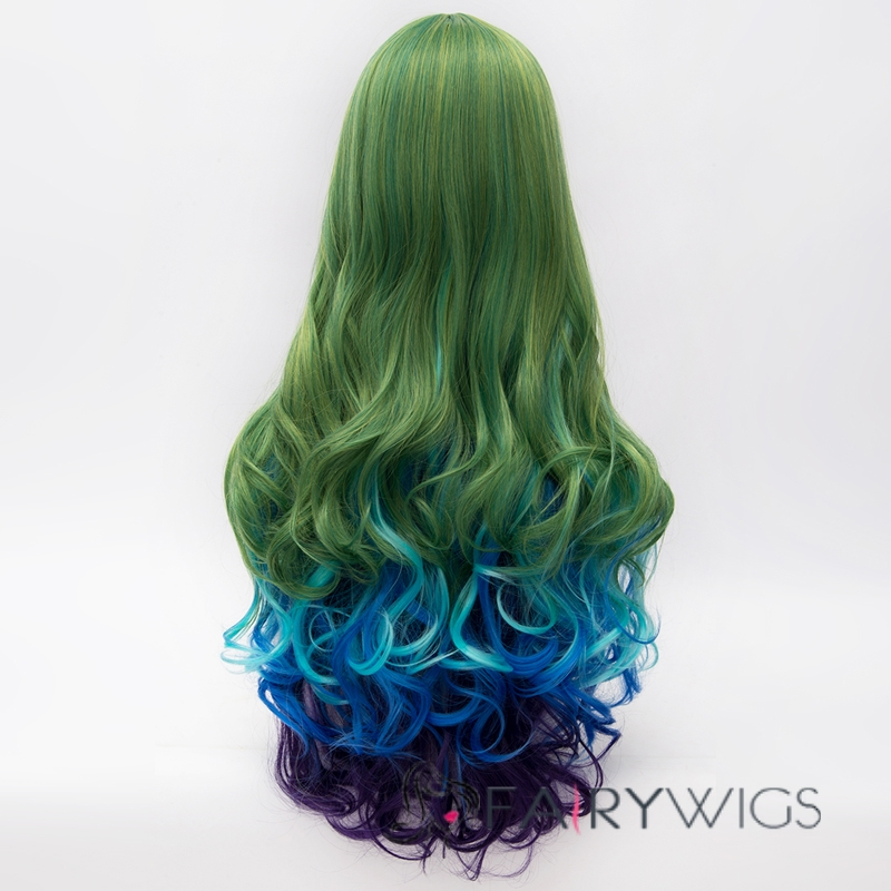 Fairy Long Wave Mixed Color Lolita Wig