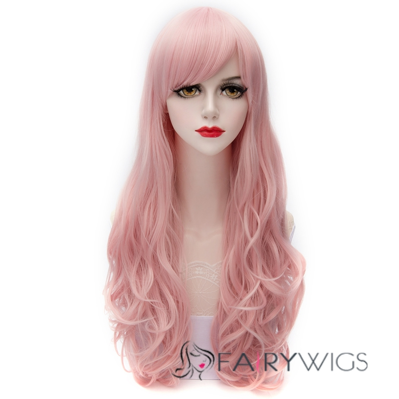 Japanese Synthetic Fiber Wigs Lace Front Wigs