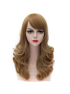 Pretty Lovely Medium Wave Mixed Color Cosplay Wig