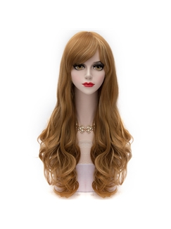 Flaxen Mixed with Blonde Long Wave Lolita Wig