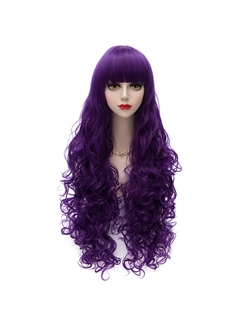 New Arrival Long Wave Mixed Color Cosplay Wig 32 Inches