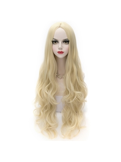 Fairy Long Wave Blonde Cosplay Wig 32 Inches