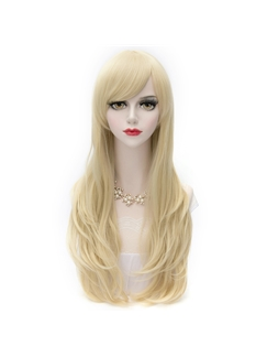 Beautiful Long Straight Blonde Lolita Wig 28 Inches