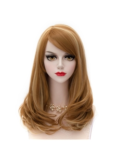 Japanese Lolita Style Medium Wave Mixed Color Cosplay Wigs 20 Inches