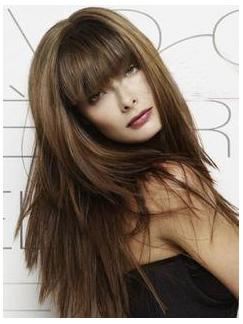 Long Straight Capless Wig 18 Inches 100% Human Hair