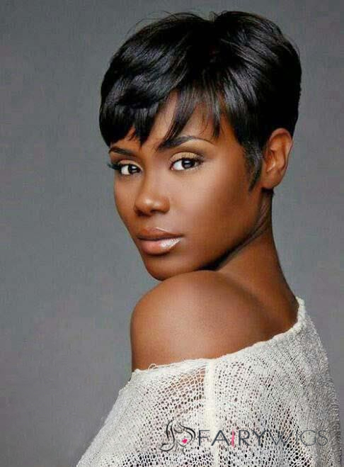 Stylish Top Quality African American Hairstyle Short