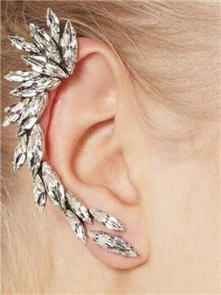Gemstone Ear Clip