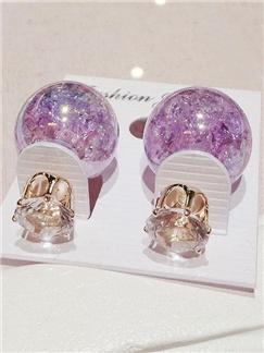 Fashion Double Side Pearl Earrings