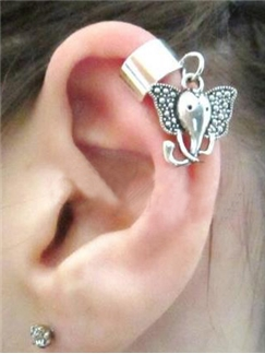 Trend Elephant Shape Women Ear Cuff