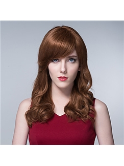 Gorgeous Human Virgin Remy Hand Tied-Top Capless Long Deep Wave Hair Woman's Wig