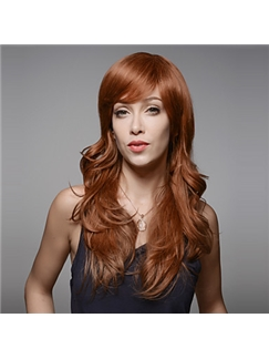 Long Natural Wave Style Remy Human Hair Hand Tied -Top Emmor Woman's Wig