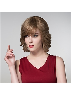 Natural Human Virgin Remy Hand Tied-Top Capless Hair Wig for Woman
