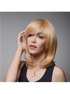 Fashion Layered Newest Style Remy Human Hair Hand Tied -Top Woman's Emmor Wigs