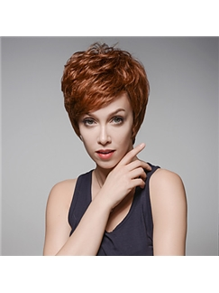 Short Hairstyle Trend Remy Human Hair Hand Tied -Top Emmor Wigs