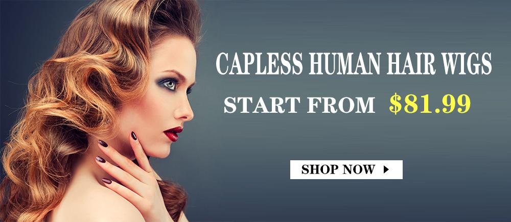 Capless Human Hair